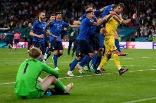 Italia derrotó a Inglaterra por penales y se consagró campeón de la Eurocopa