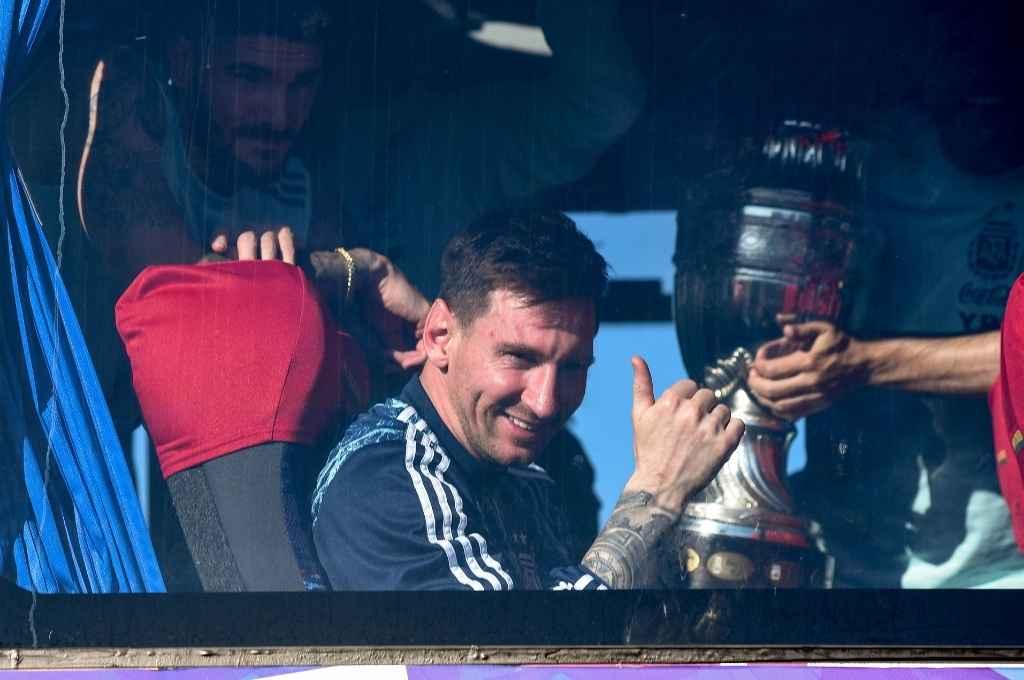 Messi trajo la Copa a la Argentina y ahora, con el Mundial a la vista, quiere ir por más.    Crédito: Gentileza