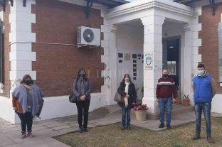 Berra visitó Colonia Belgrano y se reunió con autoridades