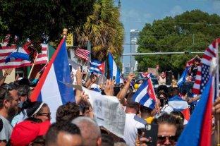 Cuba acusó a Estados Unidos de financiar las protestas
