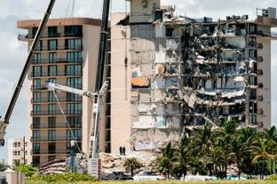 Derrumbe en Miami: hallaron los cuerpos del médico Andrés Galfrascoli y el de su hija Sofía