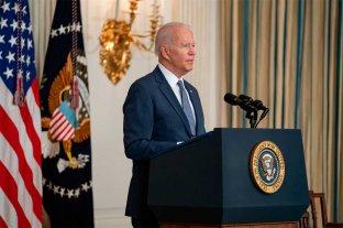 """Biden dijo que las protestas de Cuba son """"un llamado a la libertad"""""""