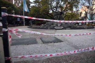 Se robaron los portones del monumento a los héroes de Malvinas en Córdoba