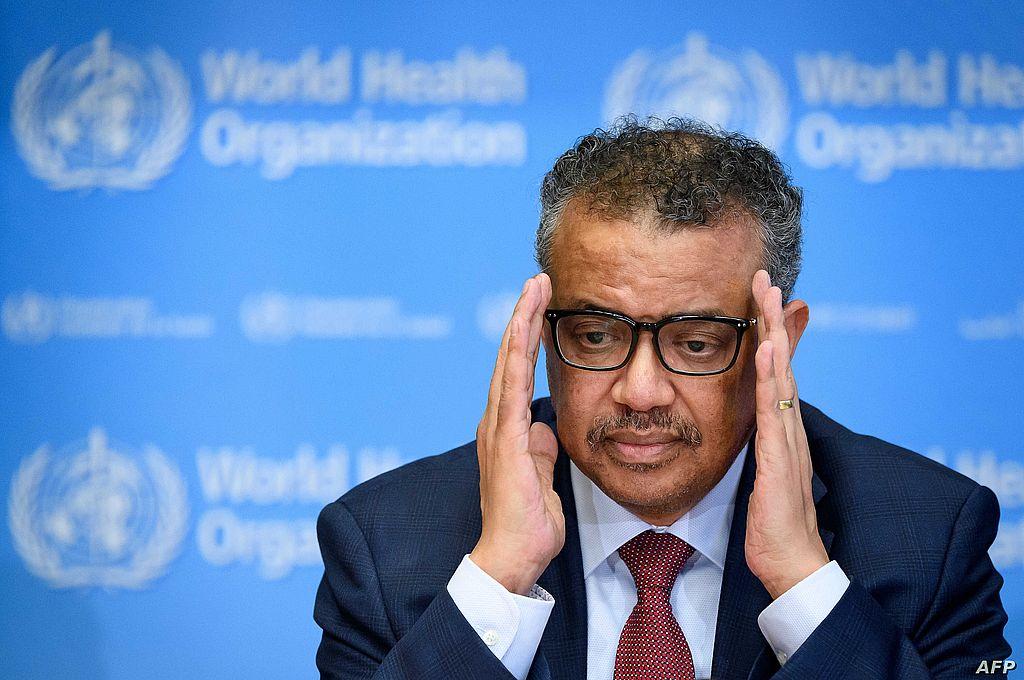 Tedros Adhanom Ghebreyesus, jefe de la Organización Mundial de la Salud (OMS).  Crédito: Archivo