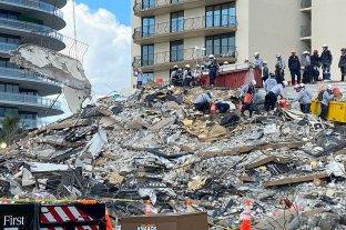 Se eleva a 94 el número de muertos por el derrumbe en Miami