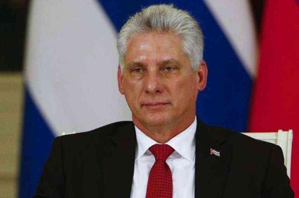 Miguel Díaz-Canel, presidente de Cuba. Crédito: Imagen ilustrativa