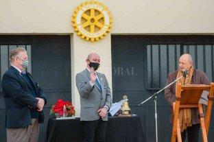 Víctor Mercado asumió la gobernación del distrito Binacional de Rotary International