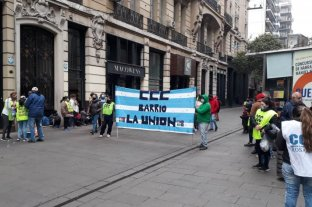La CCC mostró sus reclamos en el microcentro de Rosario