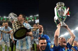 Argentina e Italia podrían jugar la Copa Diego Maradona