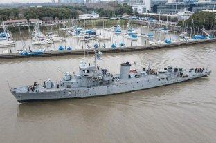 Llegan dos buques sanitarios de la Armada a Santa Fe
