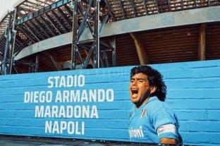 """Nápoles ofreció el estadio """"Diego Maradona"""""""