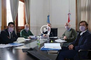 Lagna propuso a Diputados buscar un consenso sobre las leyes de seguridad