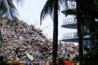 Miami: las autoridades concluyen que las víctimas fatales del derrumbe fueron 98