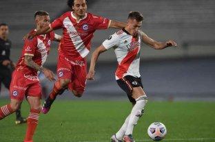 River y Argentinos Juniors empataron 1 a 1 por la ida de los octavos de final