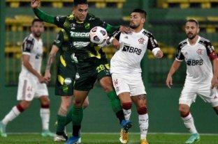 Defensa y Justicia perdió de local ante Flamengo y se complica su clasificación a la siguiente ronda