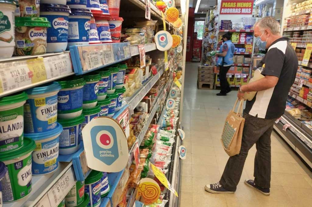 Alimentos, otra vez sería un rubro que muestra incrementos en los precios. Crédito: Télam