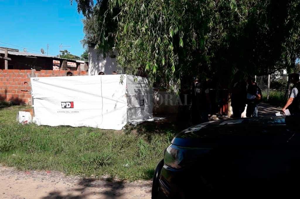 El cuerpo de Alejandra Silva (34) fue hallado al amanecer del sábado 5 de enero de 2019, en la puerta de una precaria vivienda de Sauce Viejo. Crédito: Archivo El Litoral