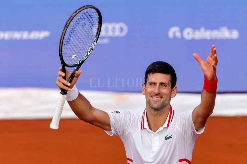 El tenista anunció en sus redes sociales que estará presente en los Juegos Olímpicos de Tokio Crédito: Gentileza