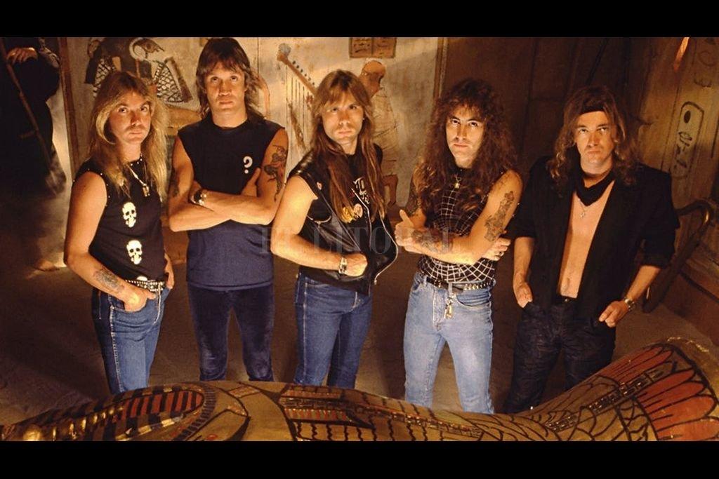 Tema bíblico en la nueva propuesta de Iron Maiden, con el sello de Blinkink. Crédito: Télam