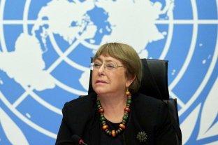 Bachelet pide liberar a los manifestantes e insta al diálogo en Cuba