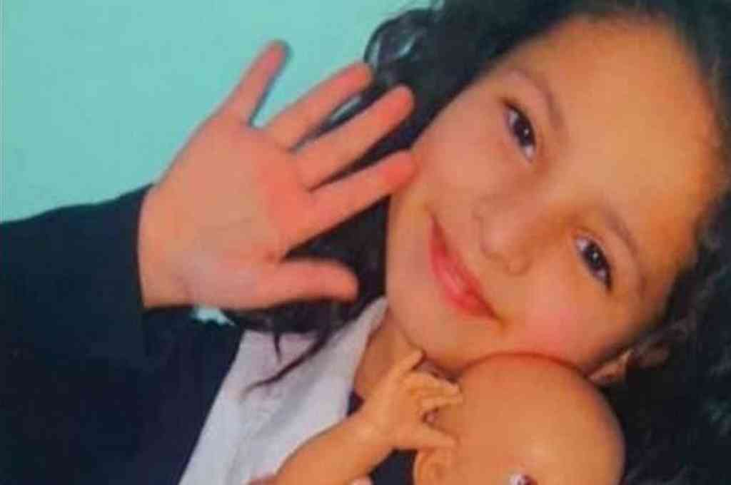 Julieta de 8 años, contrajo coronavirus estuvo nueve días internada y falleció.  Crédito: Gentileza