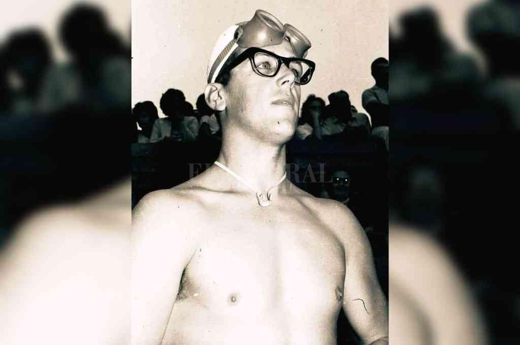 La imborrable imagen del gran nadador holandés en la tercera edición del