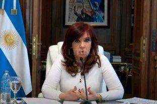 "Cristina Kirchner dice que la causa del memorándum con Irán es ""un disparate judicial"""