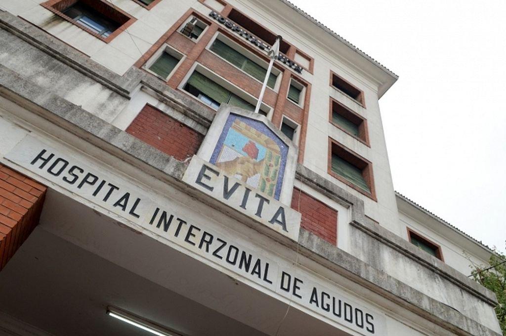 Hospital Evita de Lanús. Crédito: Captura digital