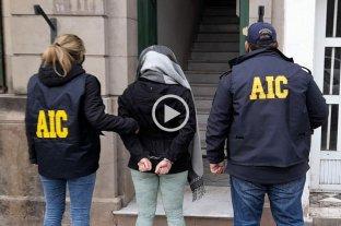 """Video: detuvieron a una mujer por el brutal crimen del """"Orejón"""" Leguizamón"""