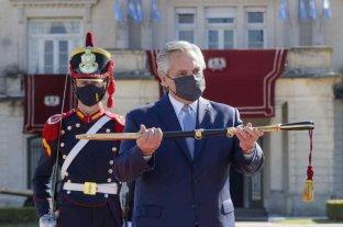 Alberto Fernández le agradeció a las Fuerzas Armadas por el accionar frente a la pandemia