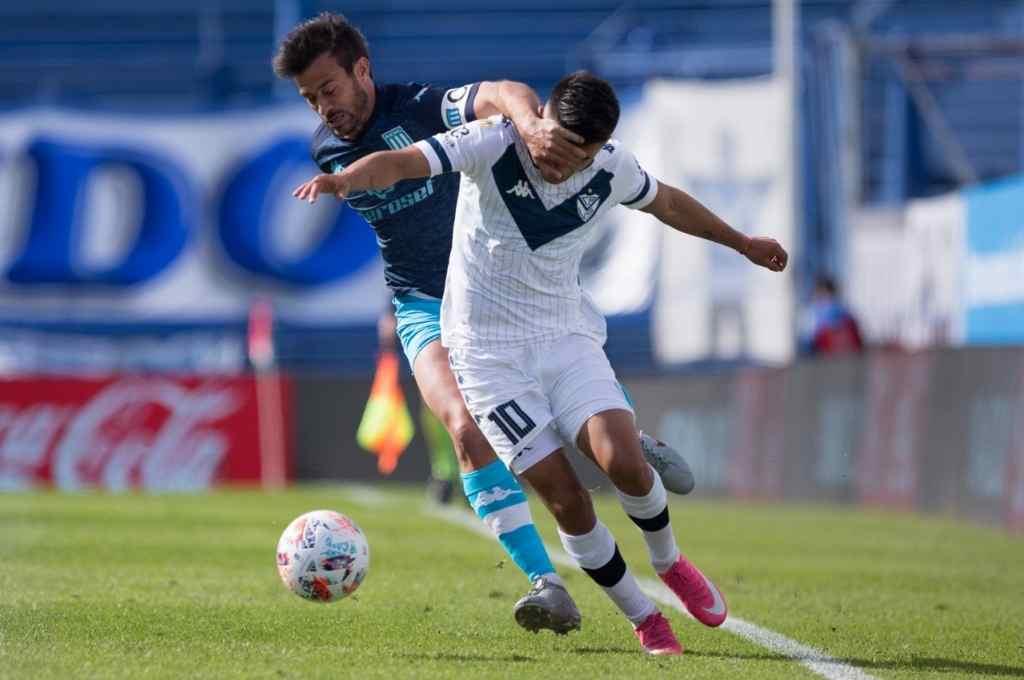 Vélez y Racing se enfrentaron por última vez en los cuartos de final de la Copa de la Liga Profesional. Fue empate 0 a 0 y clasificación de la