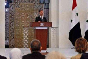 Al Assad asumió por cuarta vez como presidente de Siria