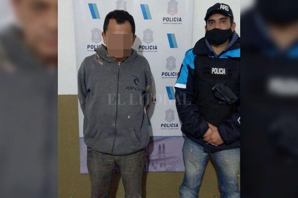 Carlos Flores (48) fue detenido casi un mes después del femicidio de su sobrina. Crédito: Captura digital