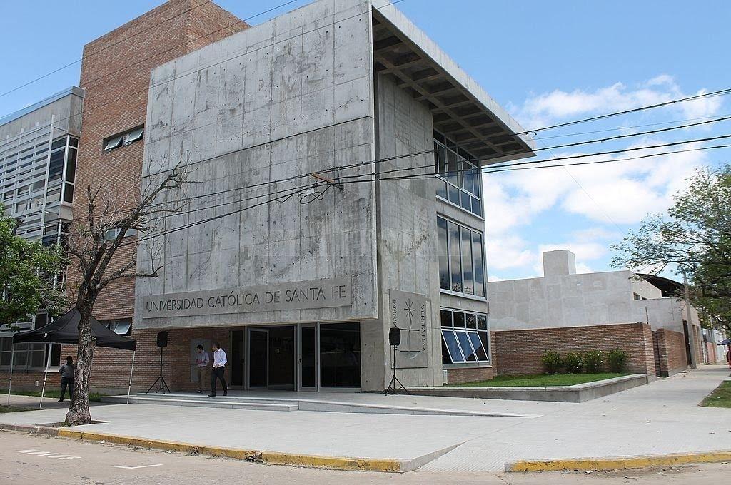 La sede de la Universidad Católica de Santa Fe en Reconquista. Crédito: Gentileza