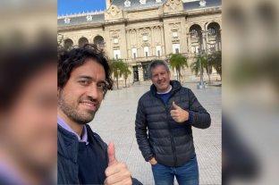 Ataja Passet - Cáceres y Passet estuvieron reunidos esta semana en Santa Fe analizando el panorama político santafesino. -