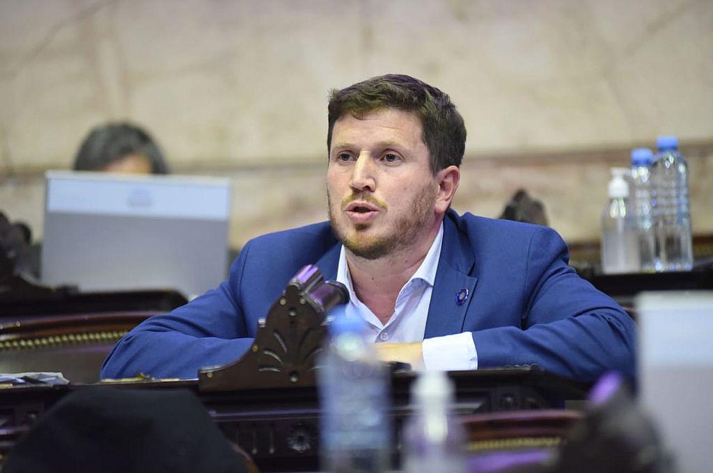 Federico Angelini y un dilema. Si pasa de Diputados al Senado, ¿lo reemplaza una peronisa? Crédito: Archivo