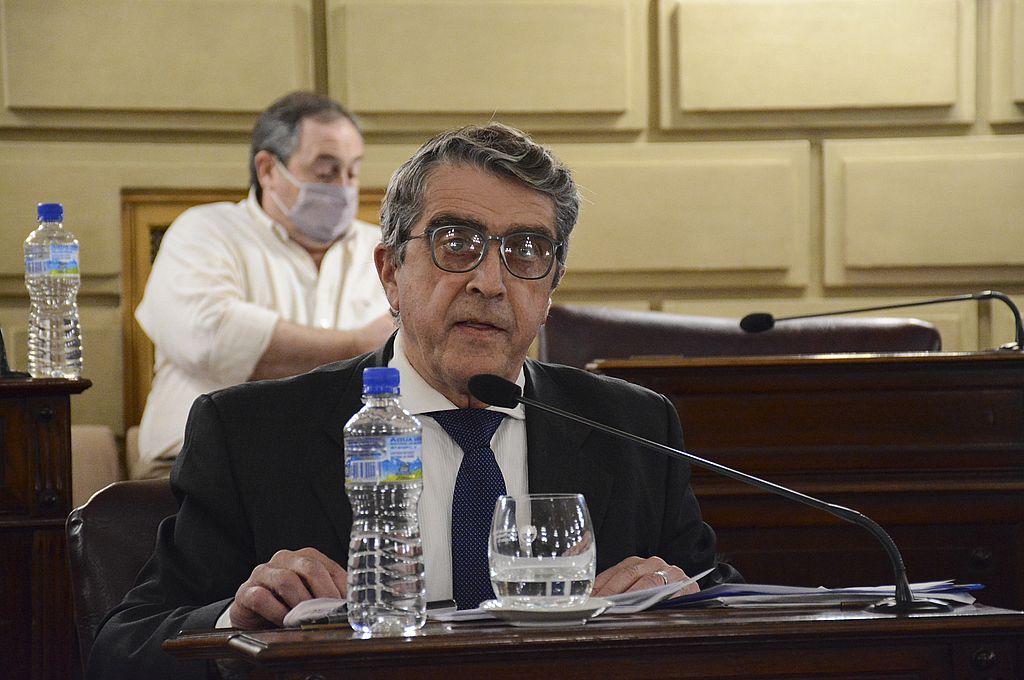 Armando Traferri se enfrentará otra vez al gobernador, esta vez en las urnas. Crédito: Prensa Senado Santa Fe