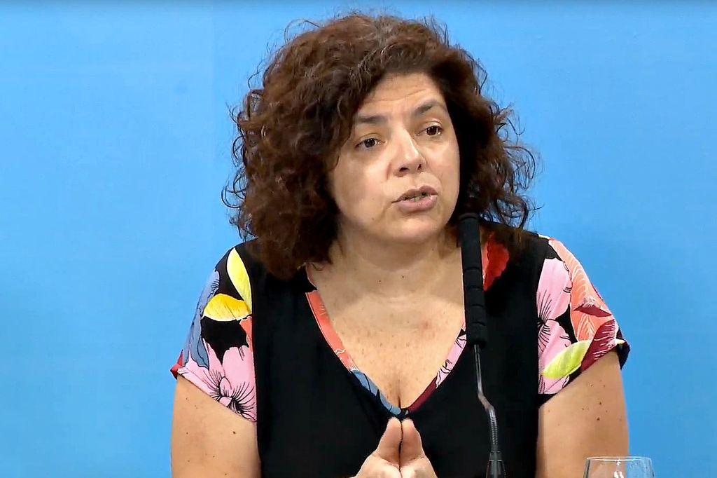 Carla Vizzotti, ministra de Salud. Crédito: Gentileza