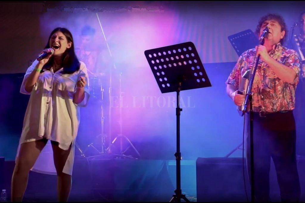"""Hace dos años, Los Palmeras habían versionado la canción de Los Auténticos Decadentes junto a Marcela Morelo; ahora lo hicieron con Sofía """"SoSa"""" Crespo (Los Peñaloza). Crédito: Gentileza producción"""