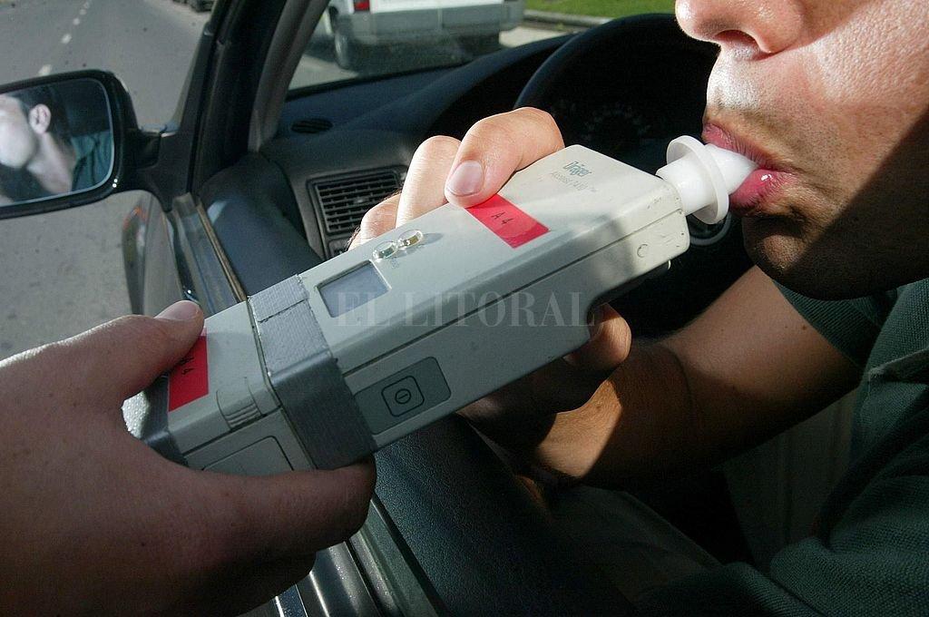 Habrá controles de alcoholemia durante el Día del Amigo. Crédito: Archivo El Litoral