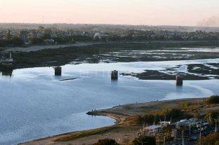 El Río Paraná ya mide por debajo de cero en Santa Fe