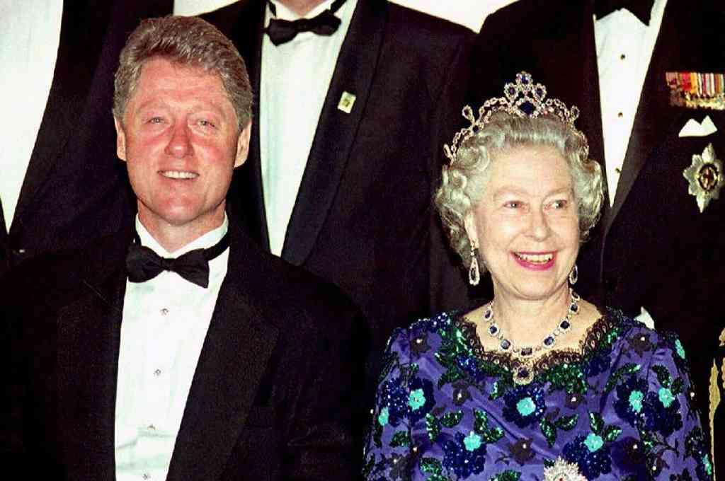 El expresidente estadounidense, Bill Clinton, rechazó una invitación para encontrarse con la reina Isabel II en el Palacio de Buckingham durante una visita al Reino Unido en 1997. Crédito: Imagen ilustrativa