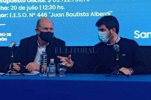 Perotti presidió acto de apertura de sobres para la construcción de la Escuela N° 238 en Venado Tuerto