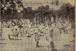 El antiguo Parque Escolar, una gran plaza en el corazón céntrico de la ciudad de Santa Fe