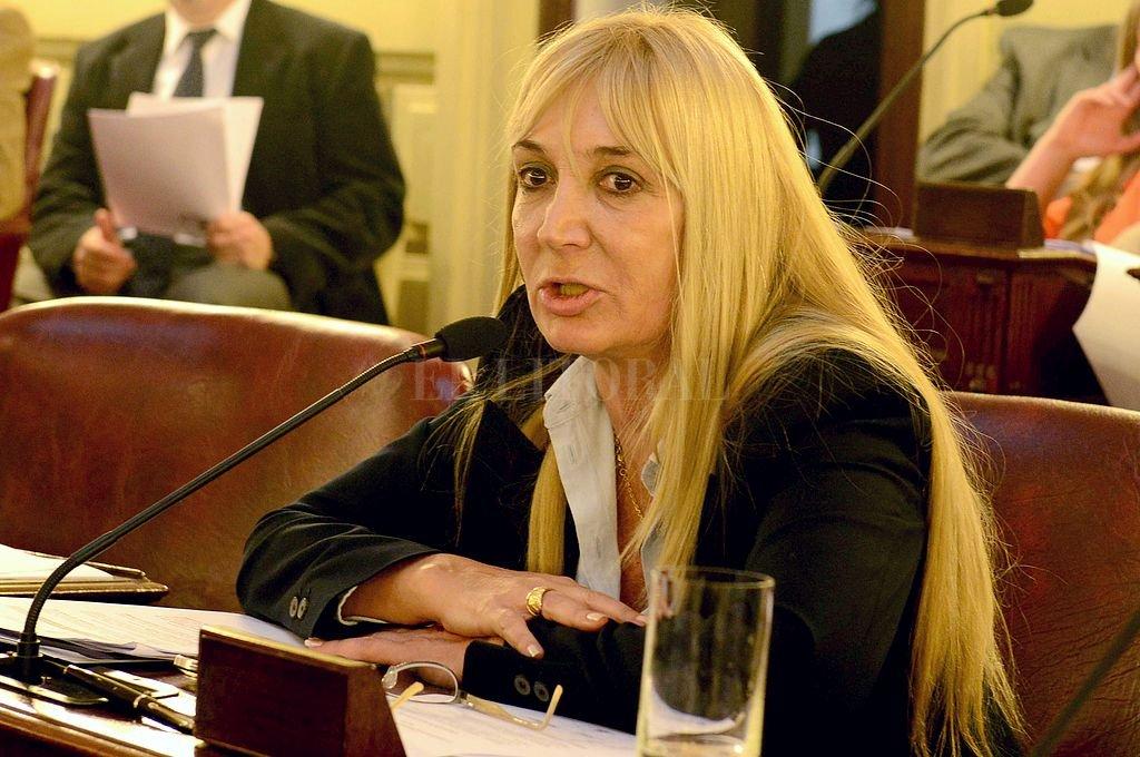 Alejandra Vucasovich. Crédito: Archivo El Litoral