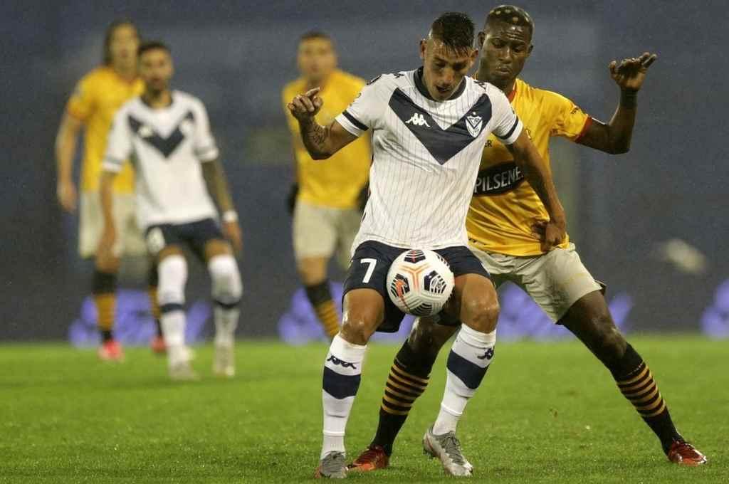 Vélez ganó como local 1 a 0 y se quiere meter en cuartos de final.    Crédito: Gentileza