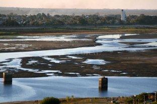 Río Paraná: por debajo del cero en Santa Fe y podría seguir en descenso
