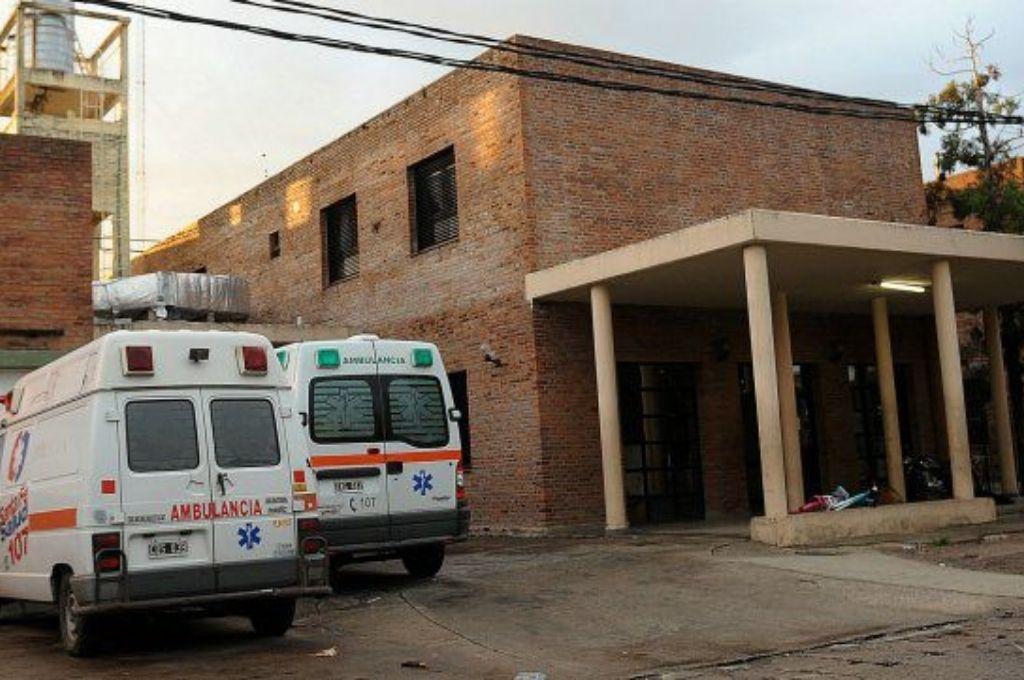 Hospital Anselmo Gamen de Villa Gobernador Gálvez. Crédito: Gentileza