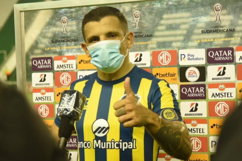 Emiliano Vecchio vuelve al primer equipo. Foto:Archivo.