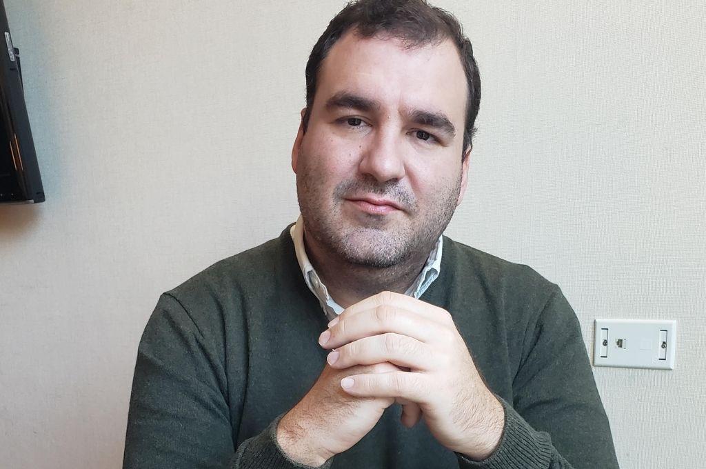 Justo Baragiola -Acompañamiento vocacional. Inserción laboral y desarrollo de carrera  Crédito: Gentileza